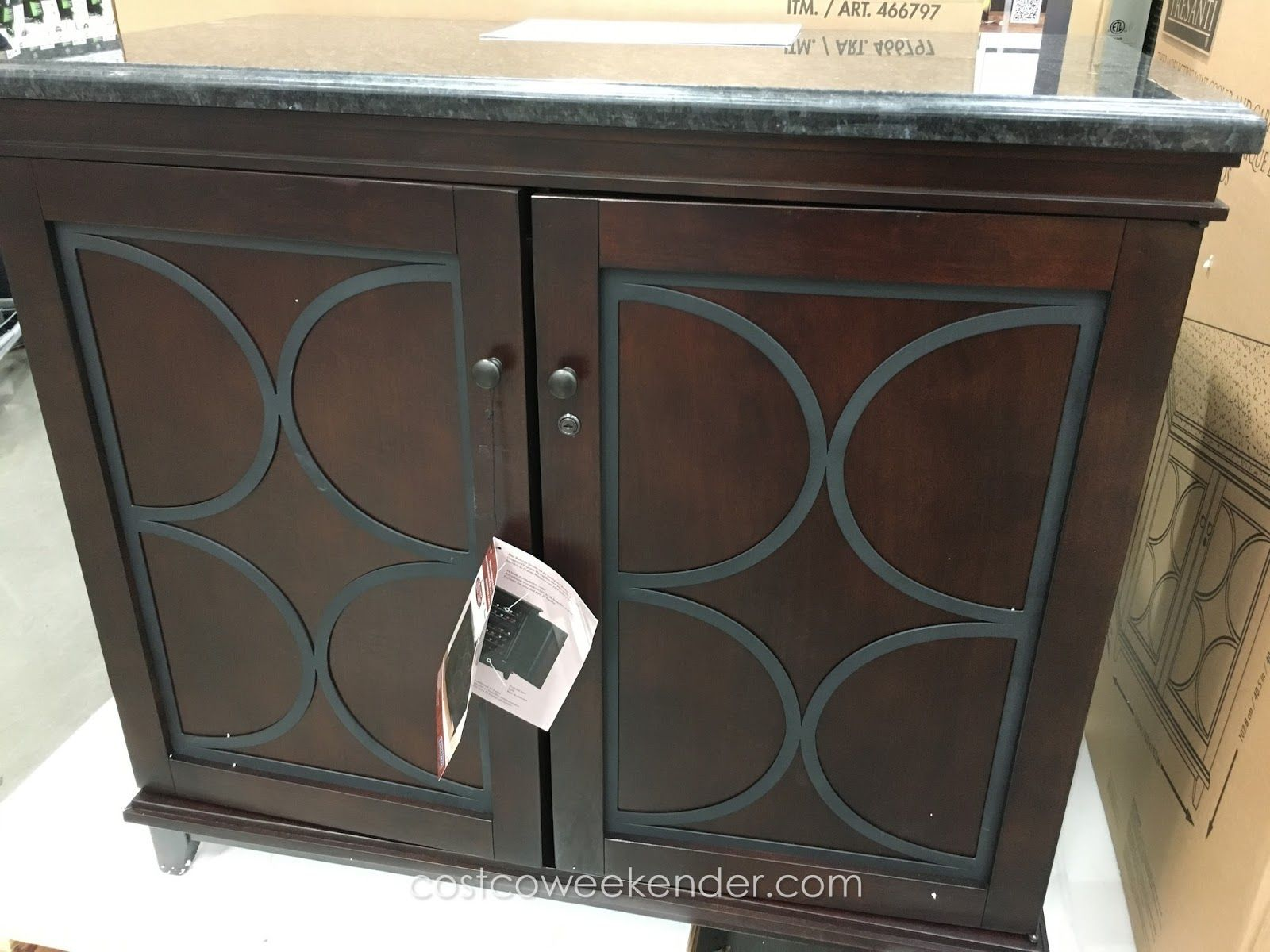 Tresanti Thermoelectric Wine Cooler Amp Cabinet At Costco In