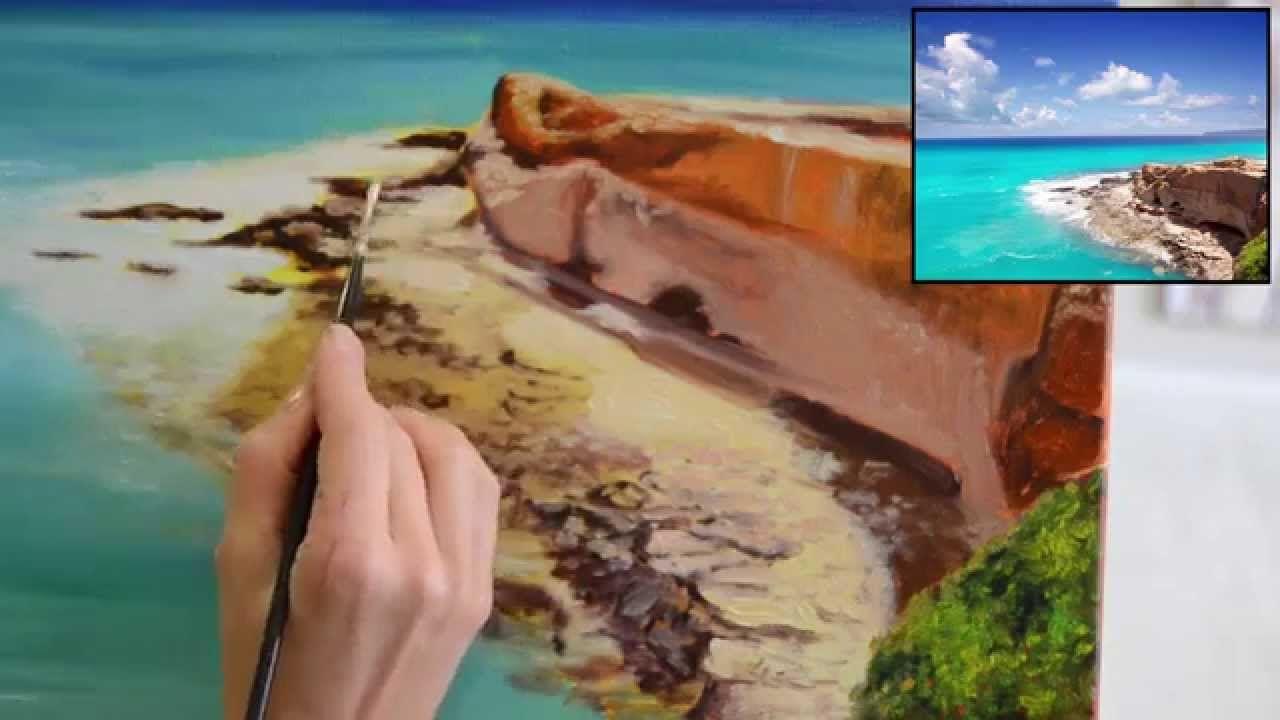 Pintar Al óleo Paisajes Paso A Paso Con Di Carvalho Parte 3 Pintura Al Oleo Tecnicas De Pintura Oleo Paisajes