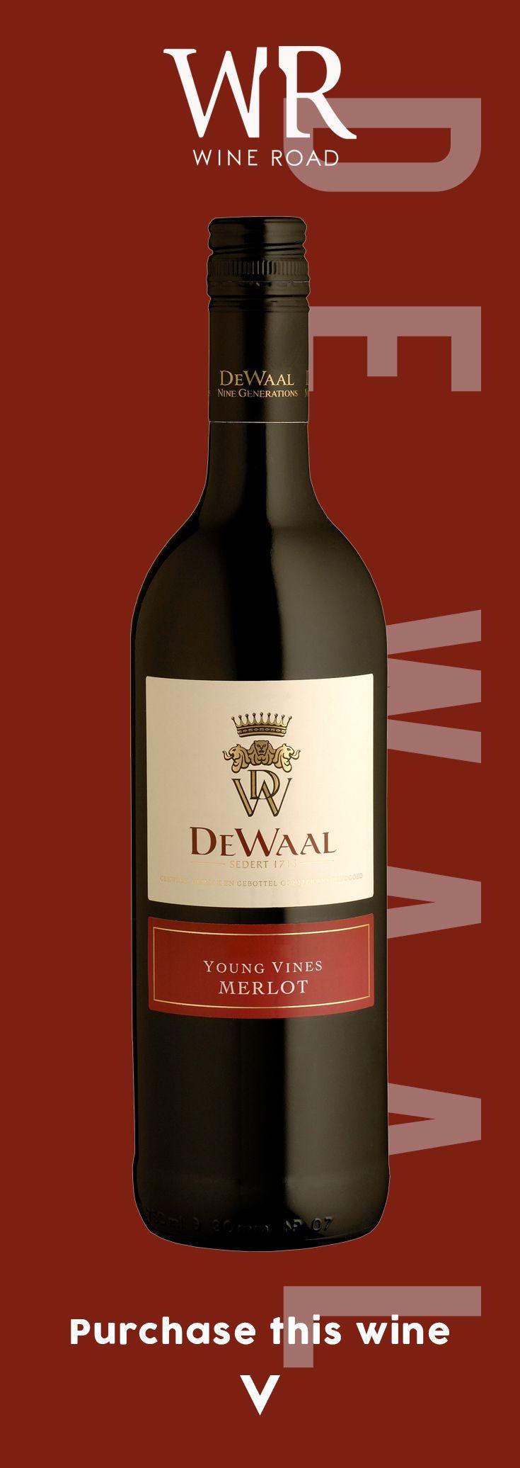 De Waal Merlot Wine Red Wine Merlot