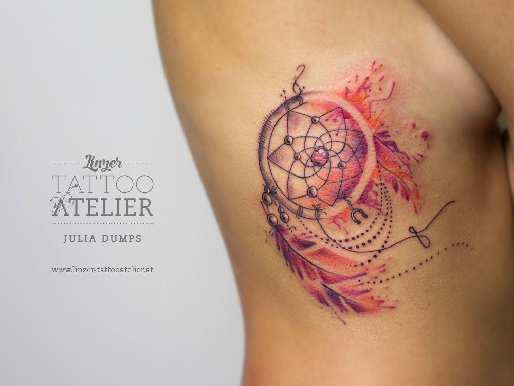 Attrape Reve Tattoos Pinterest Tattoo Ideen Aquarell Tattoo