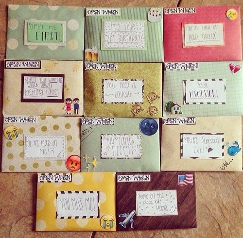 Open when letters for best friend best friends for Diy projects to do with friends