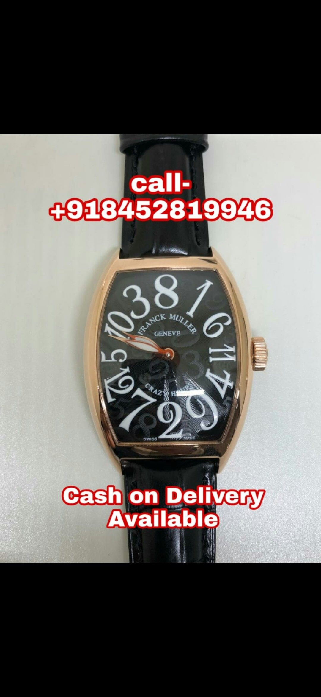 Buy Franck Muller At Cheapest Price Through Cash On Delivery All Over India Stuff To Buy Franck Muller Swiss Made Watches