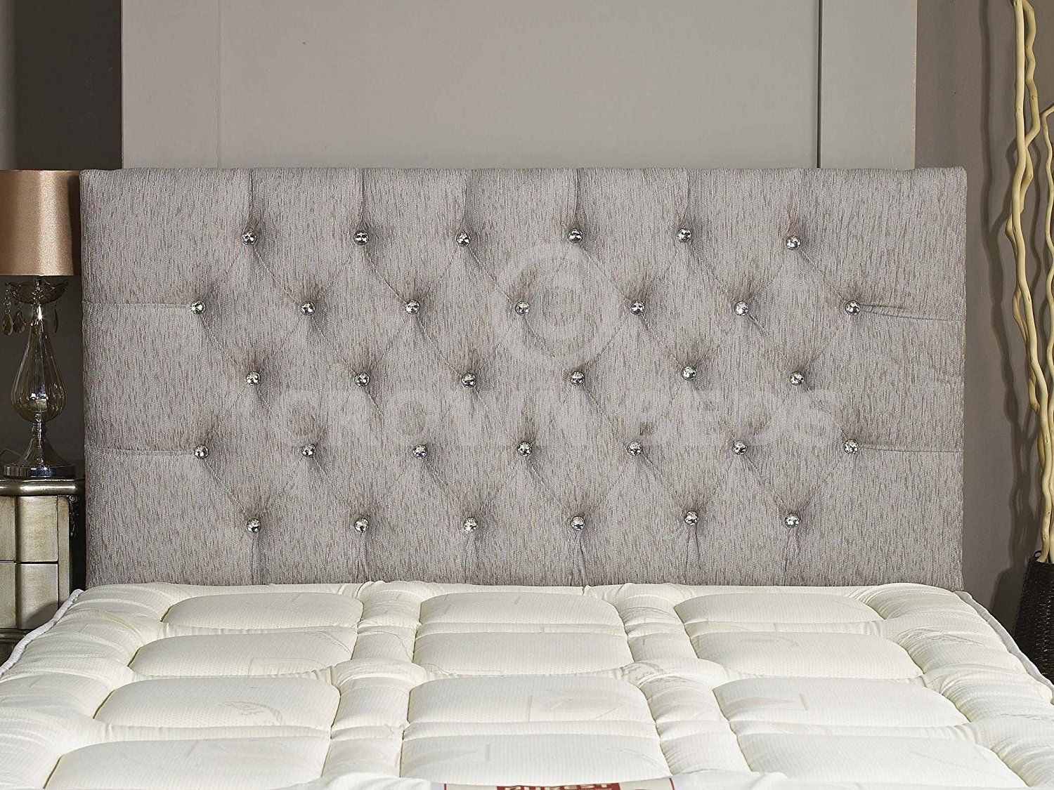 CHESTERFIELD DIAMANTE BUTTON HEADBOARD IN 2ft63ft4ft