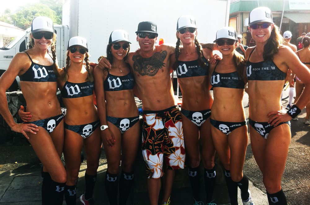 Limited Edition Betty Designs Wattie Ink Bikini on hard bodies at the IM WC  Undie Run. b90c1f24c