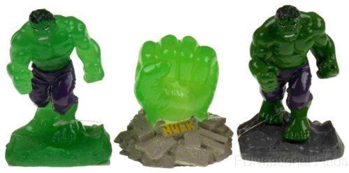 Lot 3 Top Fin Aquarium Fish Tank Hulk Fist Glows Decorations Marvel - halloween fish tank decorations