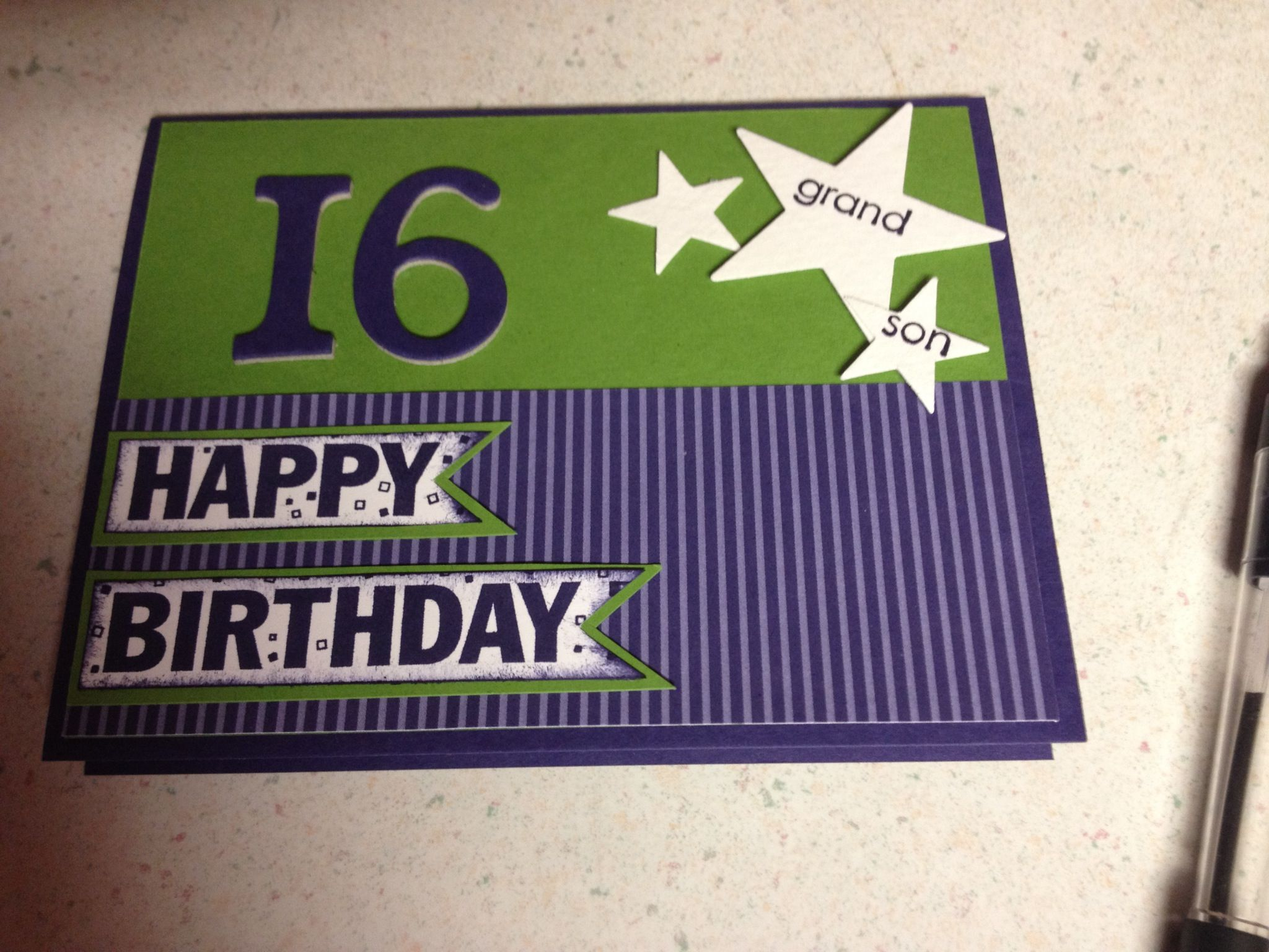 Milestone Birthday for a Teen by Speedystamper Cards and Paper