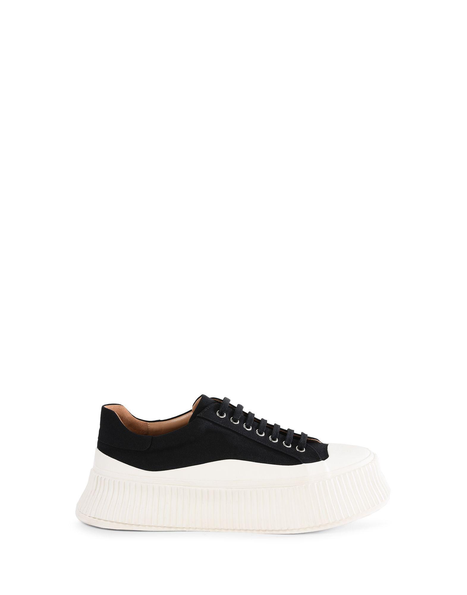 JIL SANDER SNEAKERS SCHWARZ. #jilsander #shoes | Sneakers