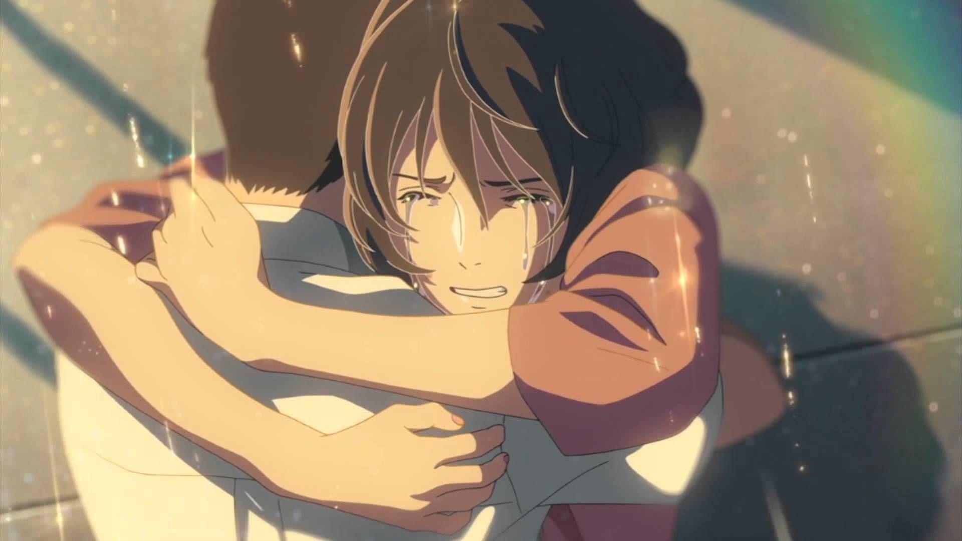 نتيجة بحث الصور عن Garden Of Words Manga Ending Anime Hug Garden Of Words Anime