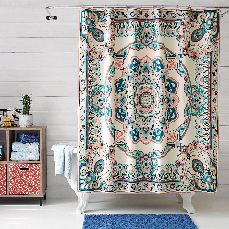 394ecf86af98bb80785d15df8d2c5cb1 - Better Homes And Gardens Medallion Shower Curtain