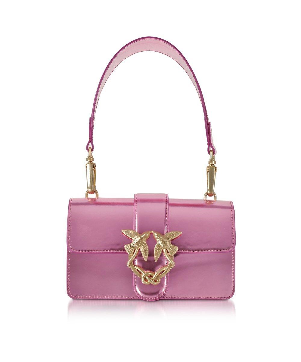 4a718e77b79 PINKO Pinko Women's Pink Patent Leather Shoulder Bag. #pinko #bags #shoulder  bags #hand bags #patent #