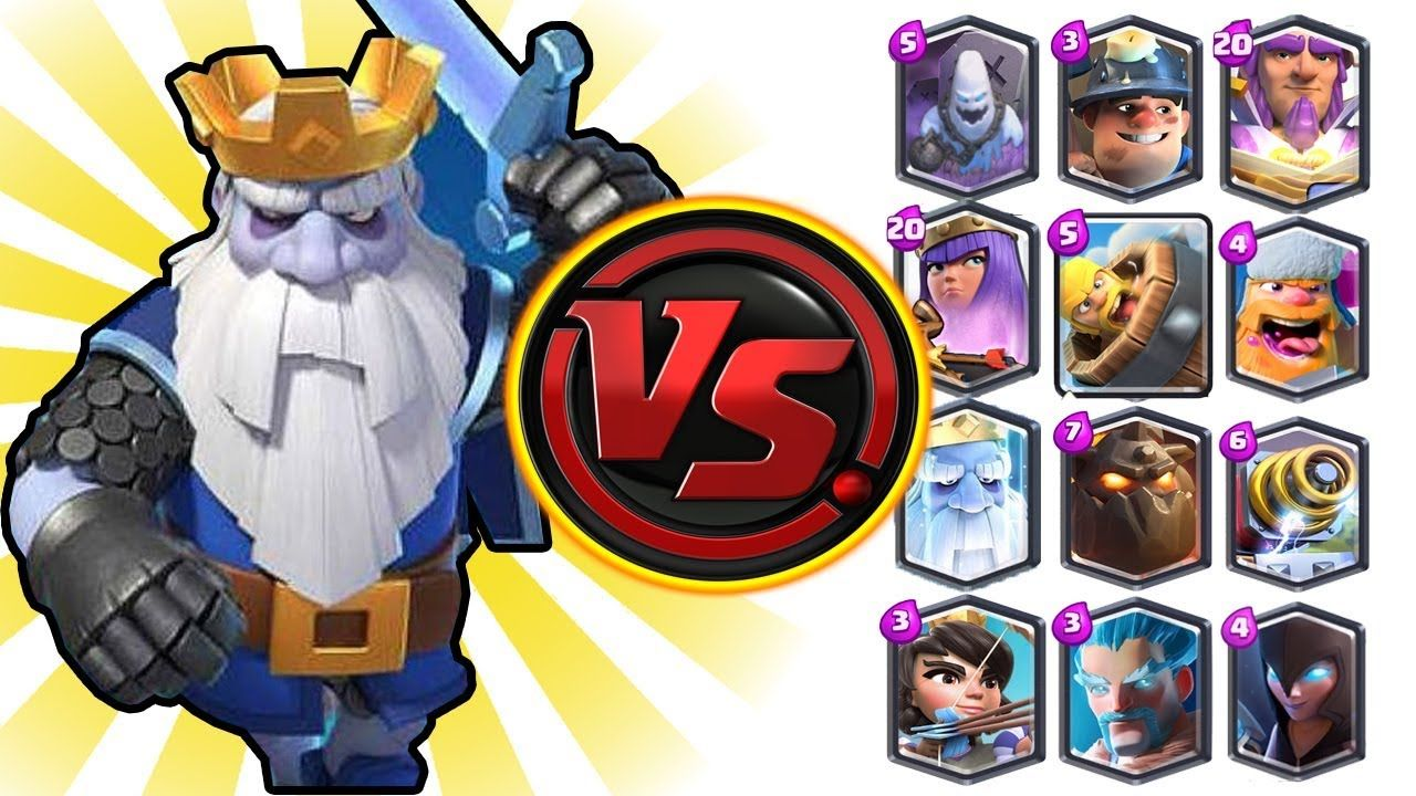 Royal Ghost Vs All Cards In Clash Royale Royale Ghost