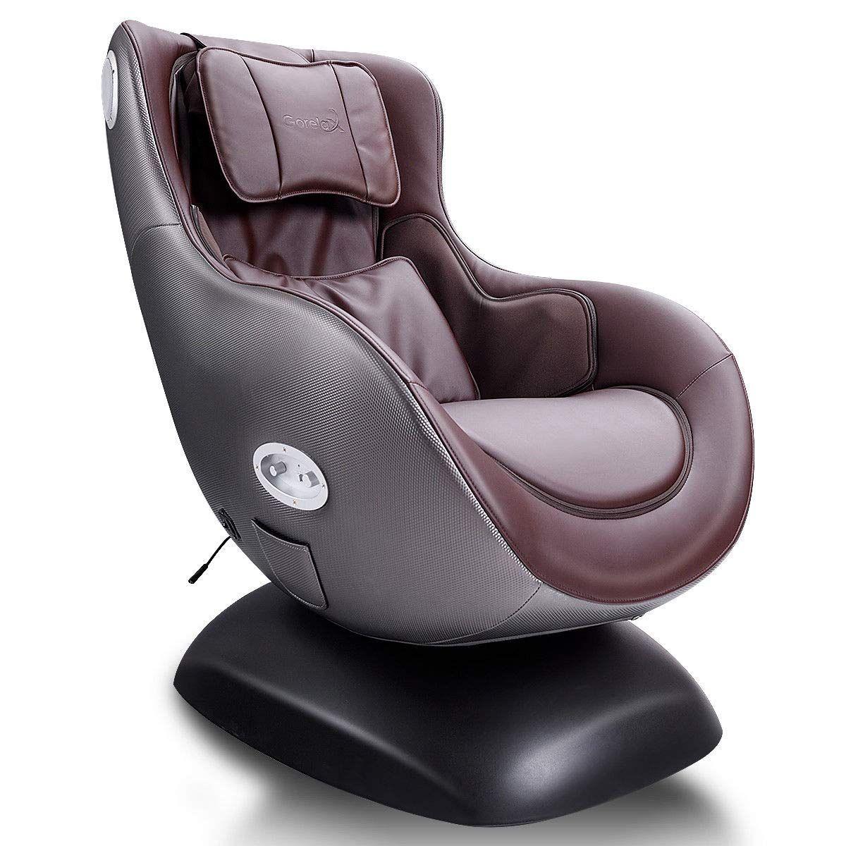 Giantex Leisure Curved Massage Chair Shiatsu Massage with