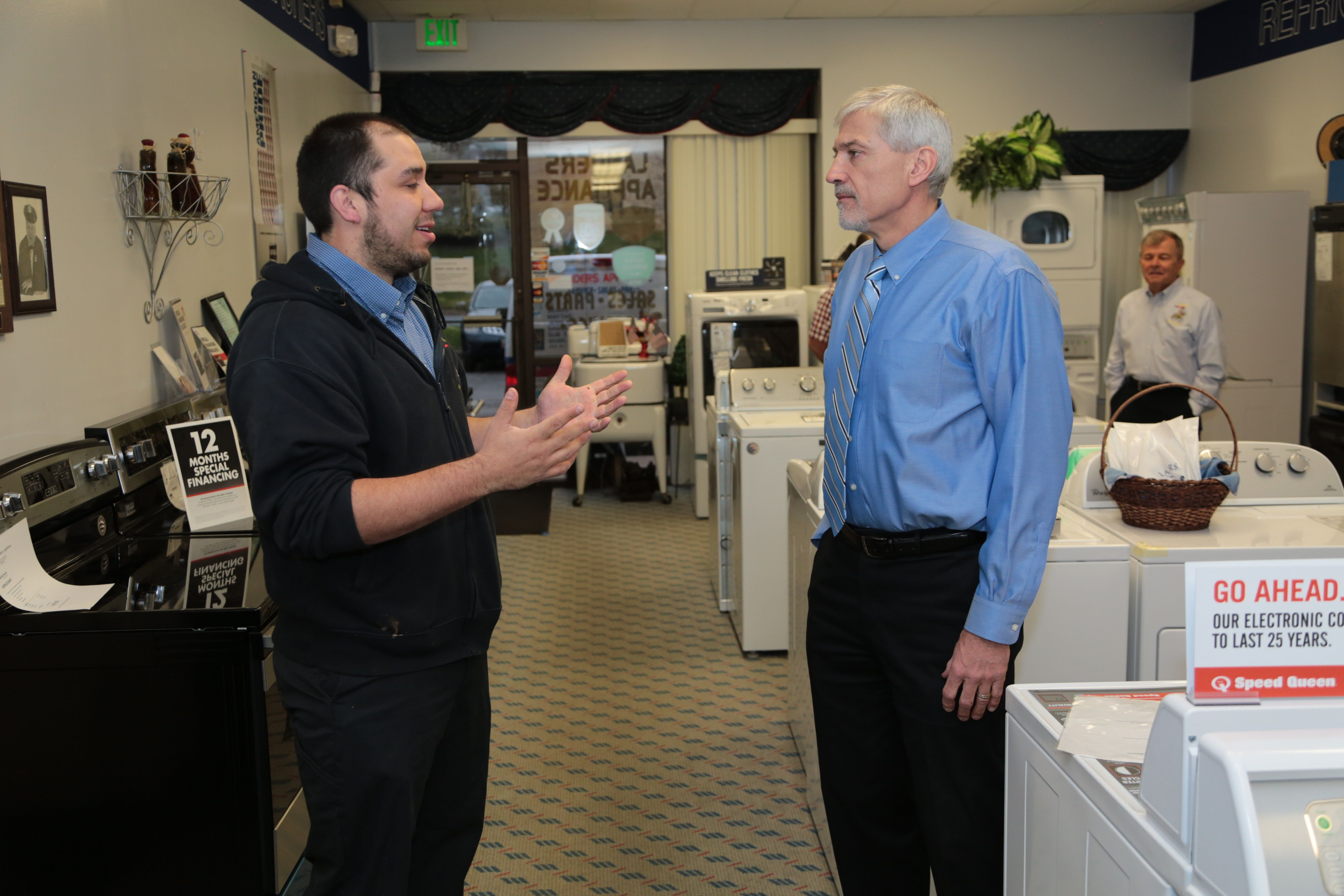 Our experts at Landers Appliance can help you decide if it's better to repair or replace your appliance. If you need a new one, we have a showroom and experts to help you get exactly what you need.