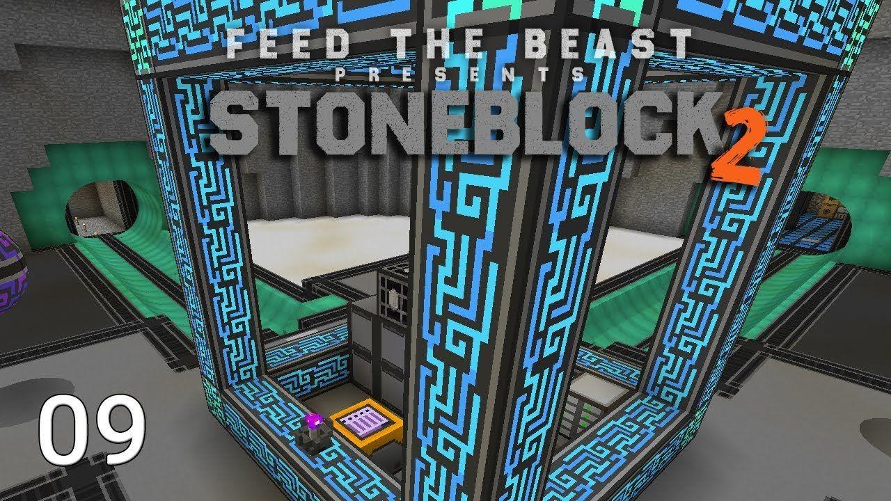 FTB Stoneblock 2 Wireless Crafting Terminal Draconic Energy