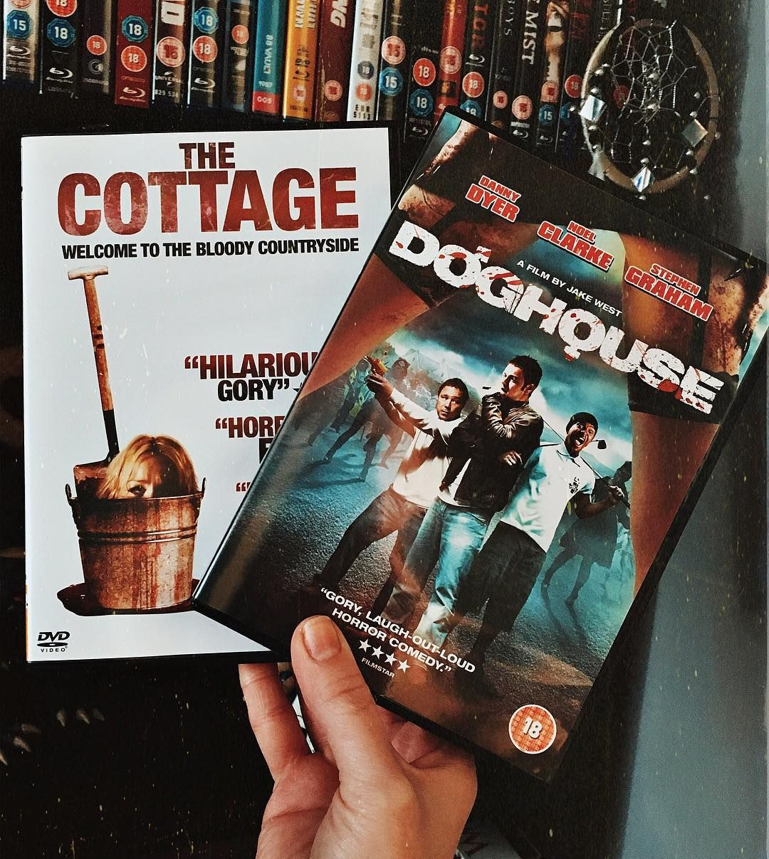Movies Arrived In The Mail Today Thecottage Doghouse Dannydyer