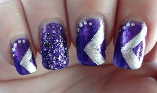 Zoya Mimi 50th Birthday Nails With Images Birthday Nails