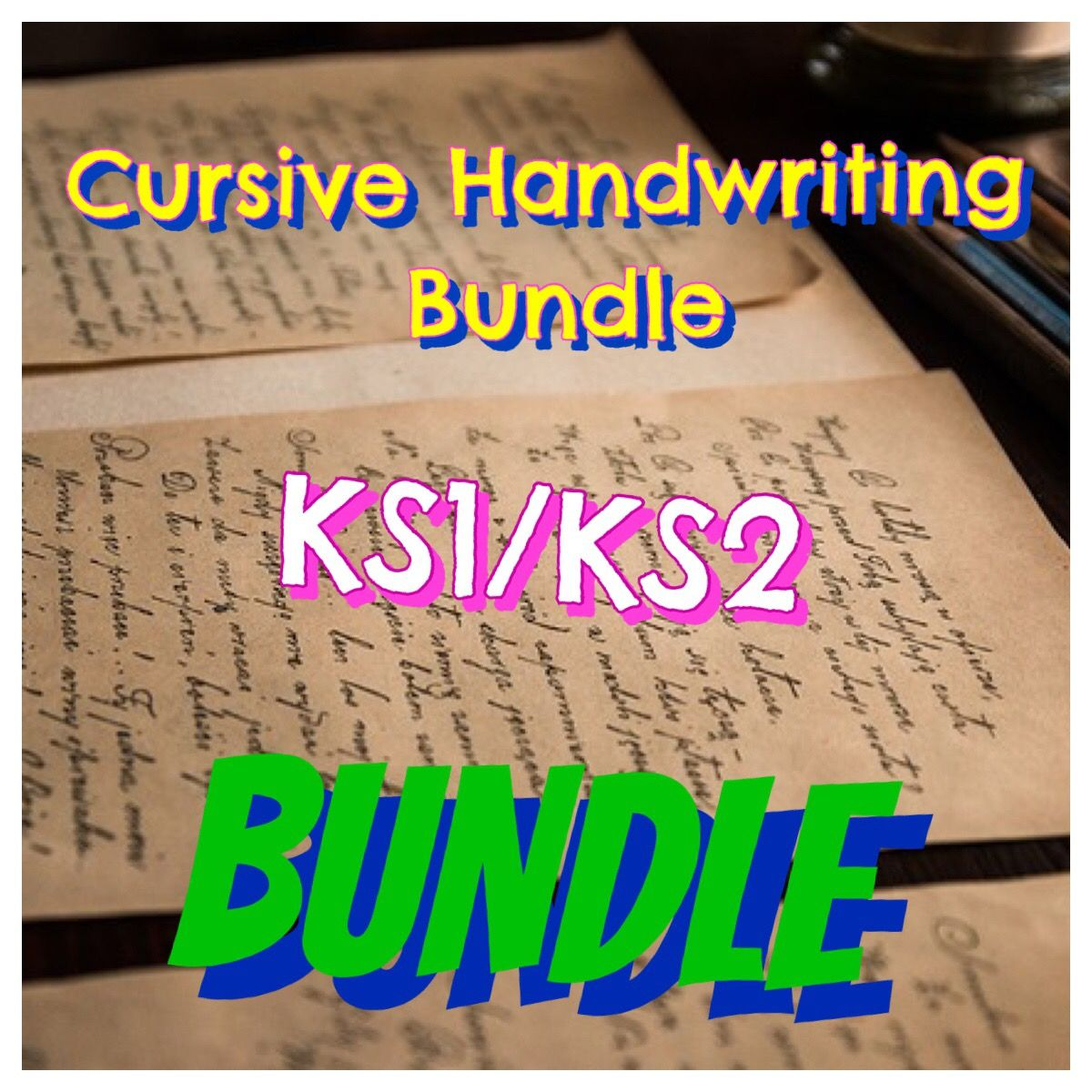 Cursive Handwriting Activity Bundle