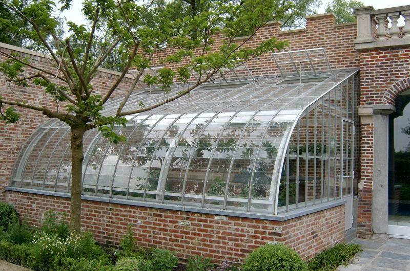 Serres veranda 39 s oranjerie afdaken en carports gladeco tussenstuk pinterest hus - Leuningen smeedijzeren patio ...