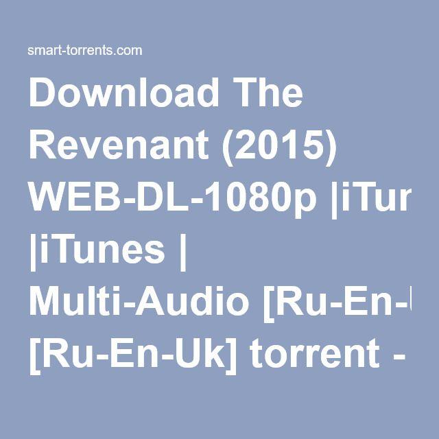 the revenant 2015 kickass 1080p