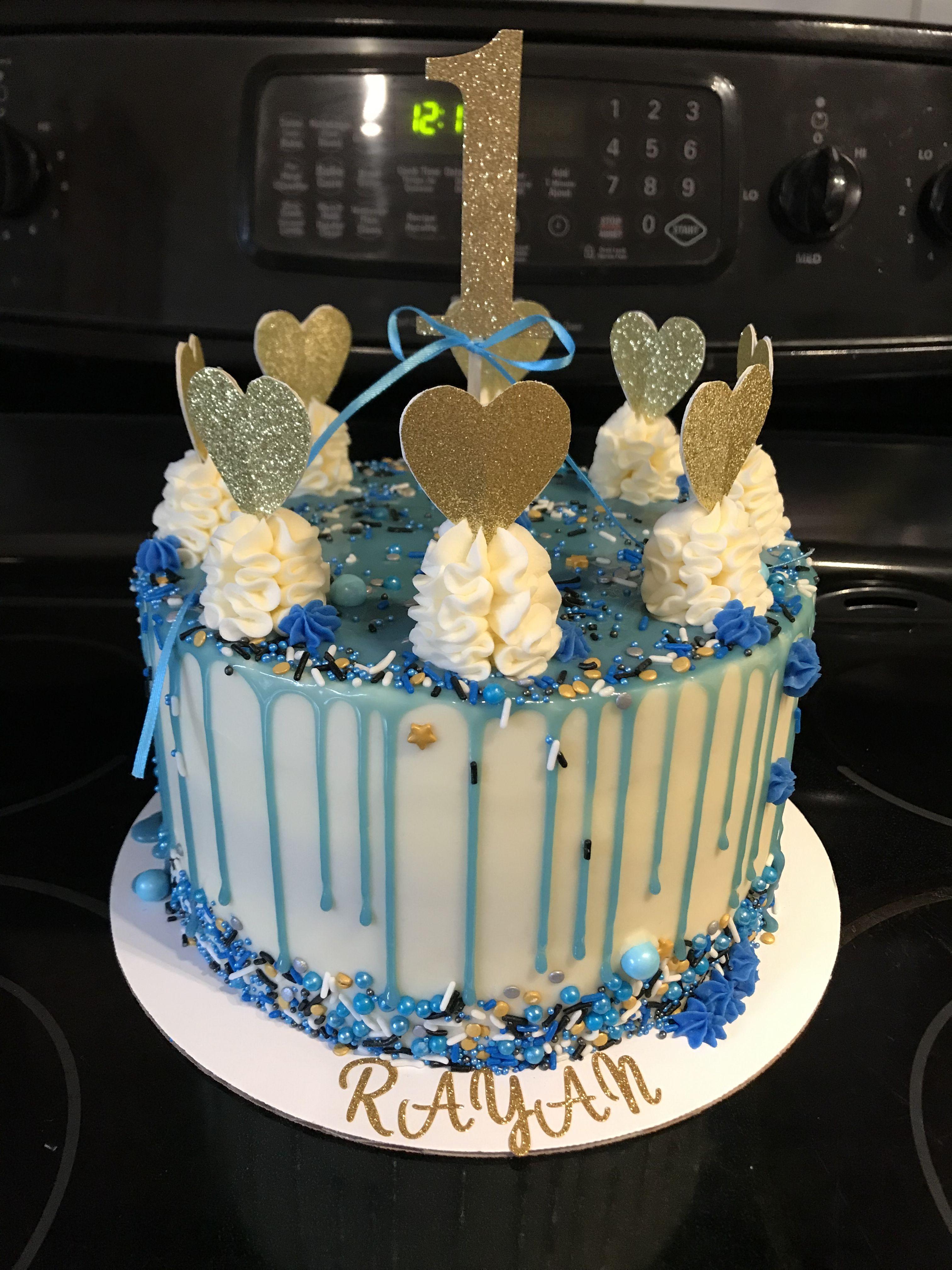 Colour drip cake   Drip cakes, Cake design, Cake trends