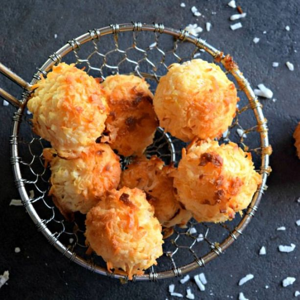 Coconut Macaroons. Coconut Macaroons is a dessert that is ready in 20 mins & is made using just 2 ingredients -coconut & condensed milk. Perfect holiday recipe