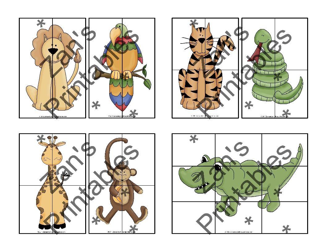 Jungle Safari Puzzles