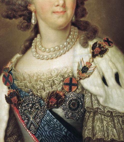 Владимир БОРОВИКОВСКИЙ (1757-1825). Портрет императрицы Марии Фёдоровны
