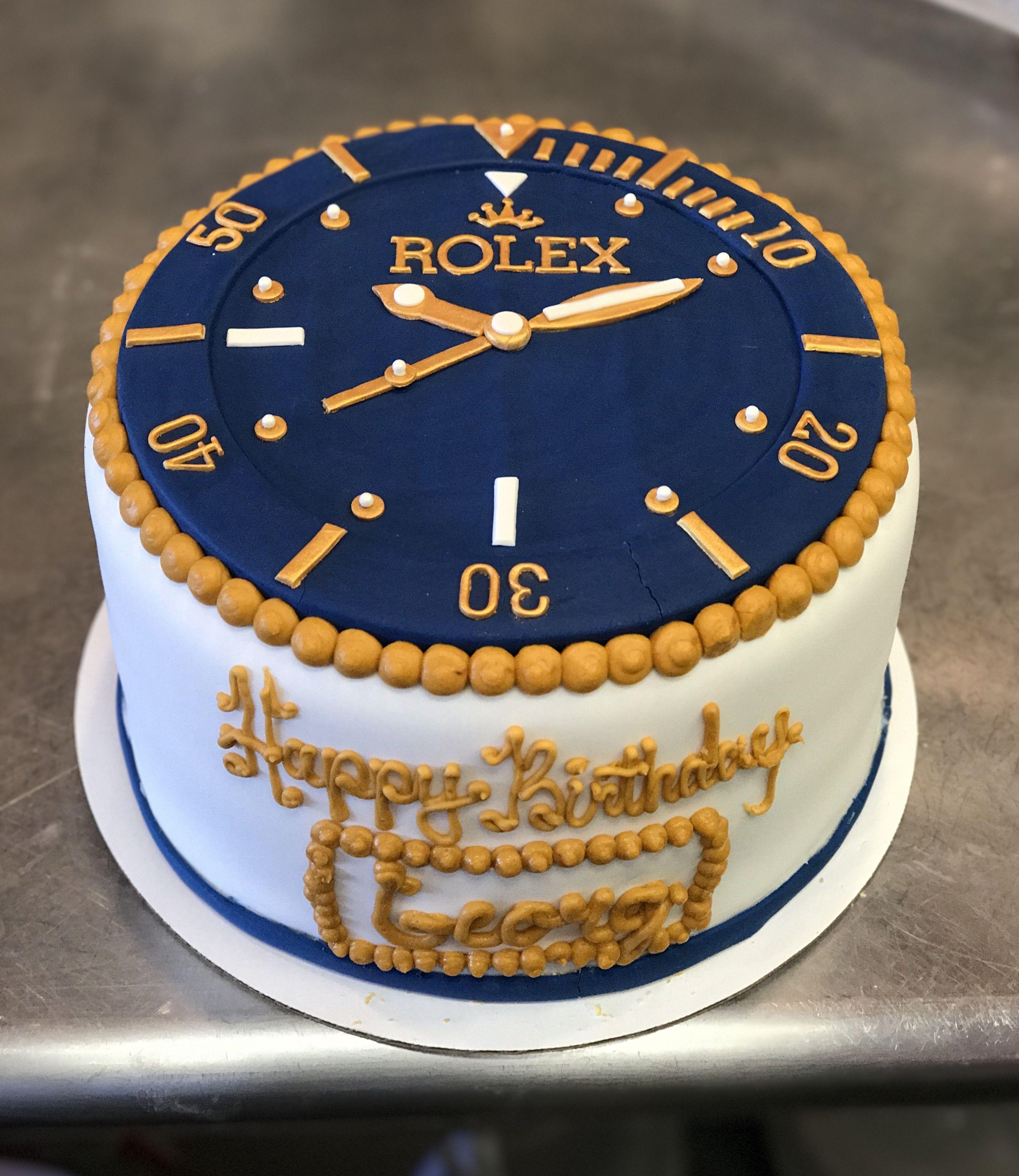 Rolex cake by Frostings Bake Shop Birthday cake