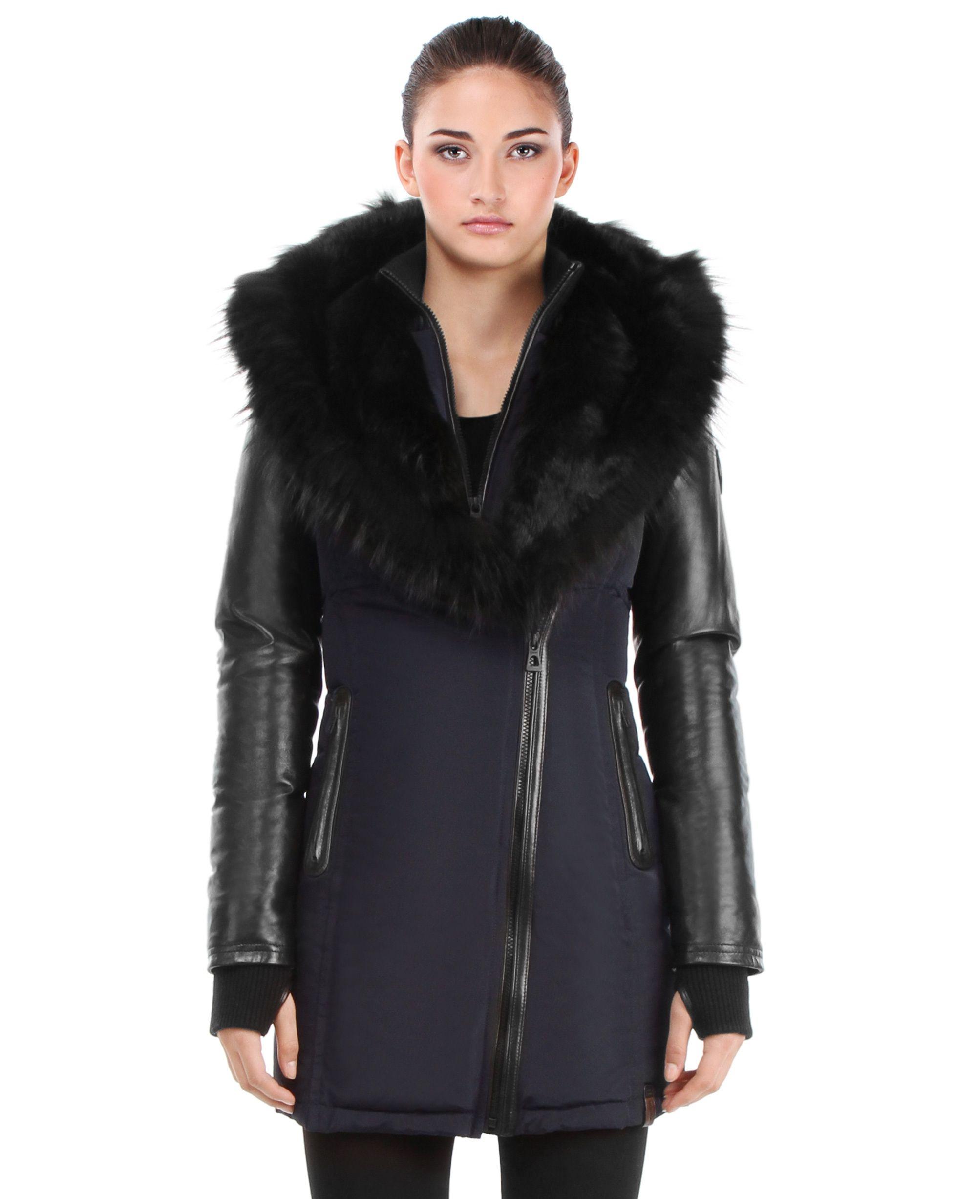 a06e9a5bbf Dream Coat! //RUDSAK Outerwear (NAVY/BLACK, MEMORY FABRIC/GENUINE ...