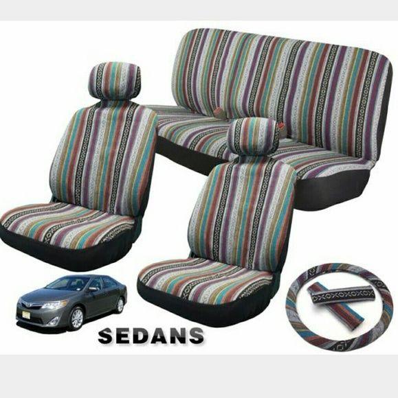 Sold Boho Sedan Seat Covers Seat Covers Boho Car Accessories Car Seats