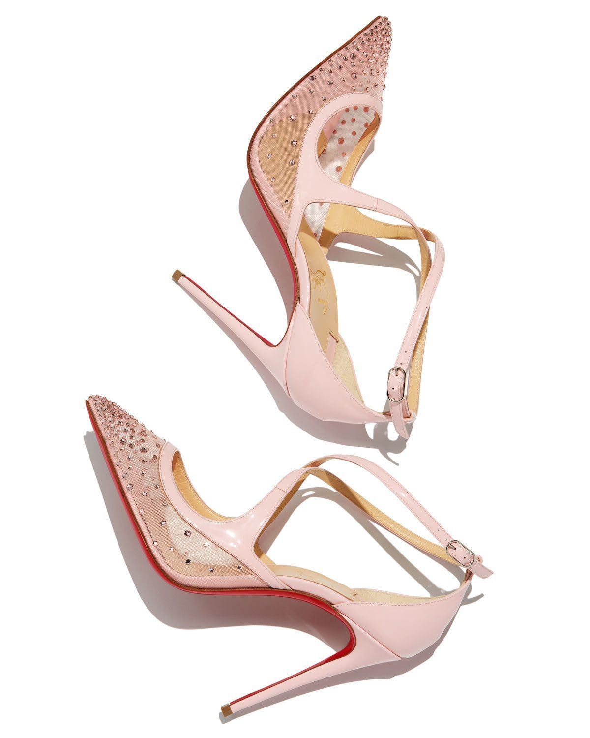 half off 1725f 481e2 Christian Louboutin Twistissima Crisscross Red Sole Pumps ...