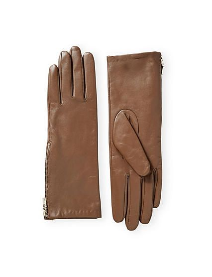 Tech Friendly Leather Gloves