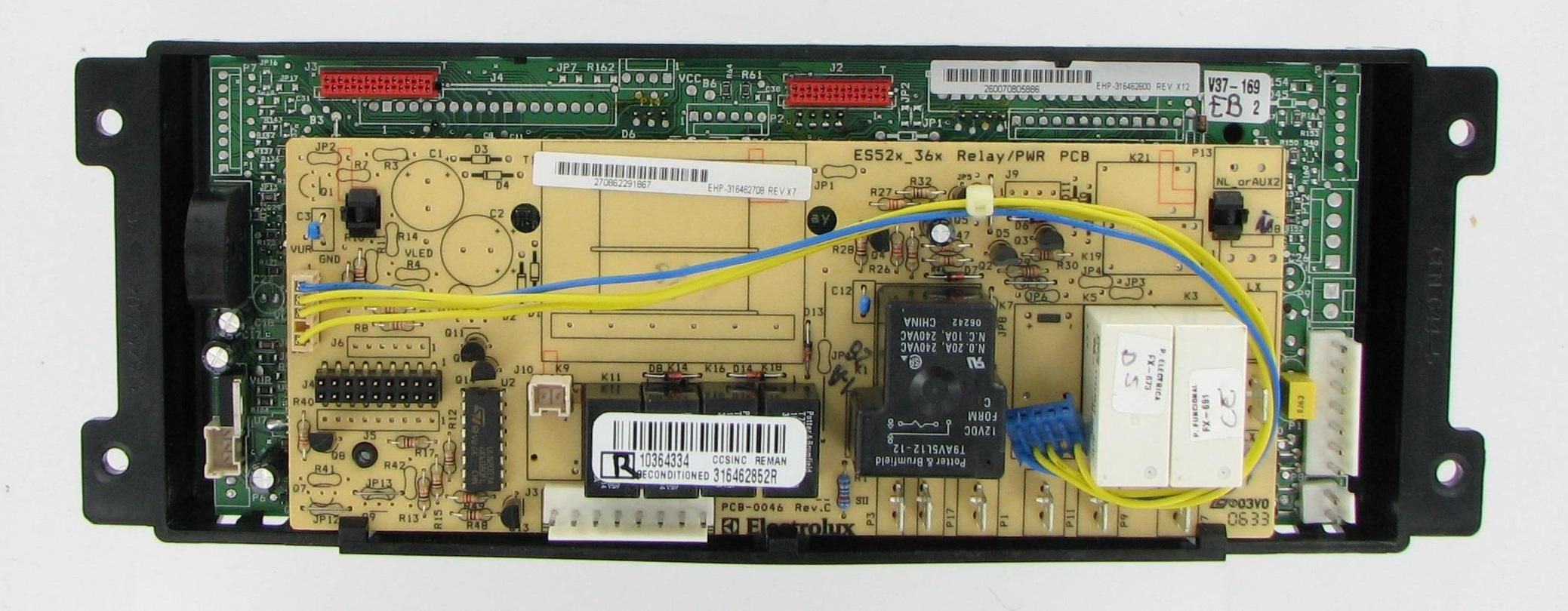 Frigidaire 316462852 Range Control Board (With images