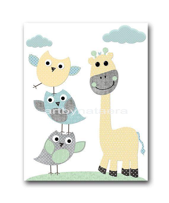 Bleu Gris 233 L 233 Phant Girafe Lion Decor B 233 B 233 Gar 231 On P 233 Pini 232 Re