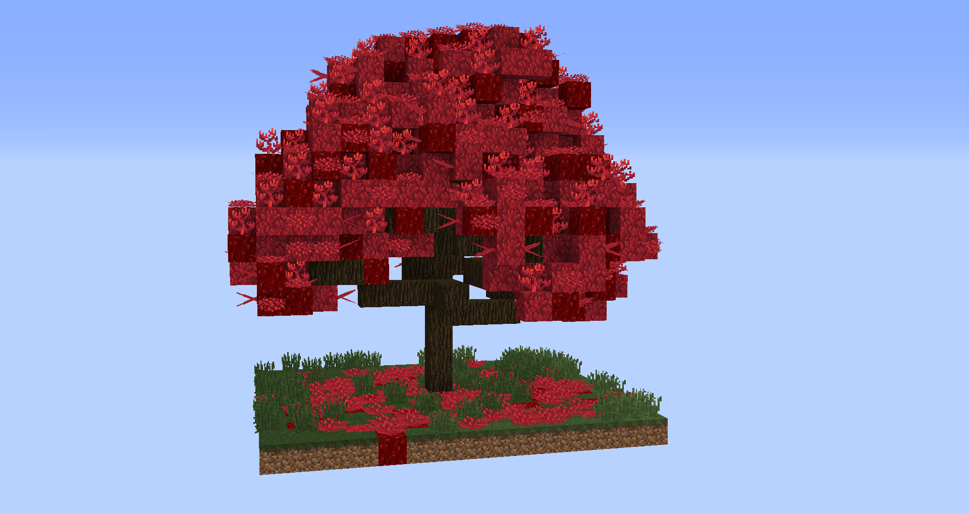 Giant Tree Minecraft Project Minecraft Tree Minecraft Treehouses Minecraft Blueprints