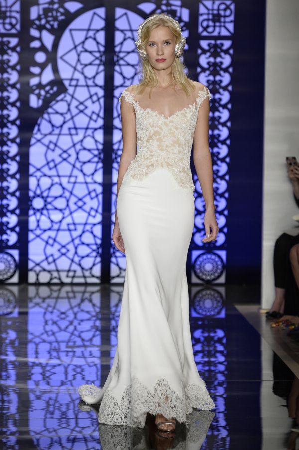 Hottest Trends from Bridal Week Fall 2016 | off-the-shoulder | Reen Acra