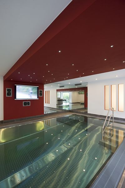 Nice architecture with swimming pool and wellness area for Gartenpool dortmund