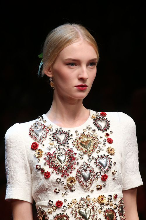 Dolce and Gabbana spring 2015 rtw details