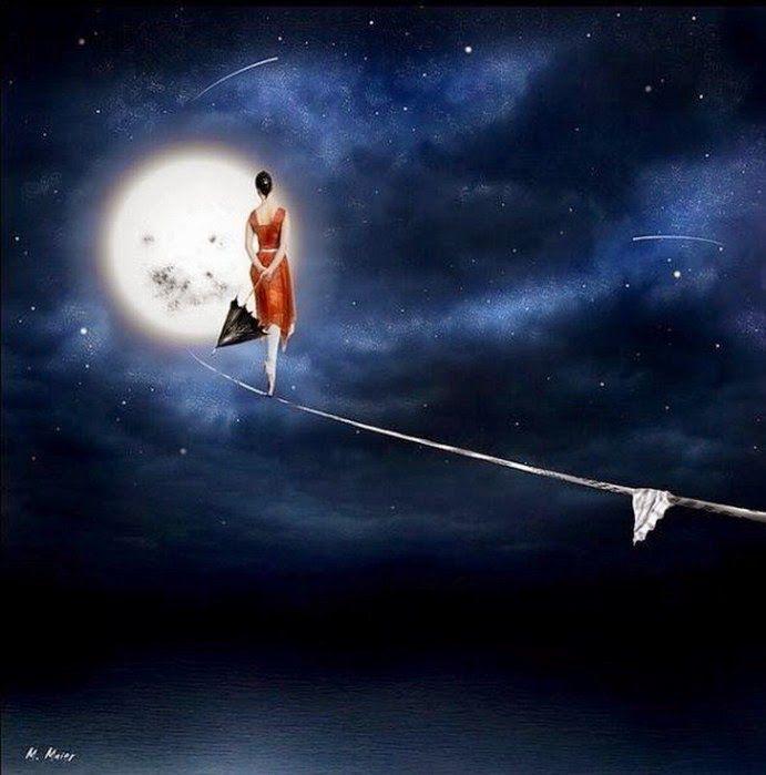 Moon walking - Judy Thompson-McDarris