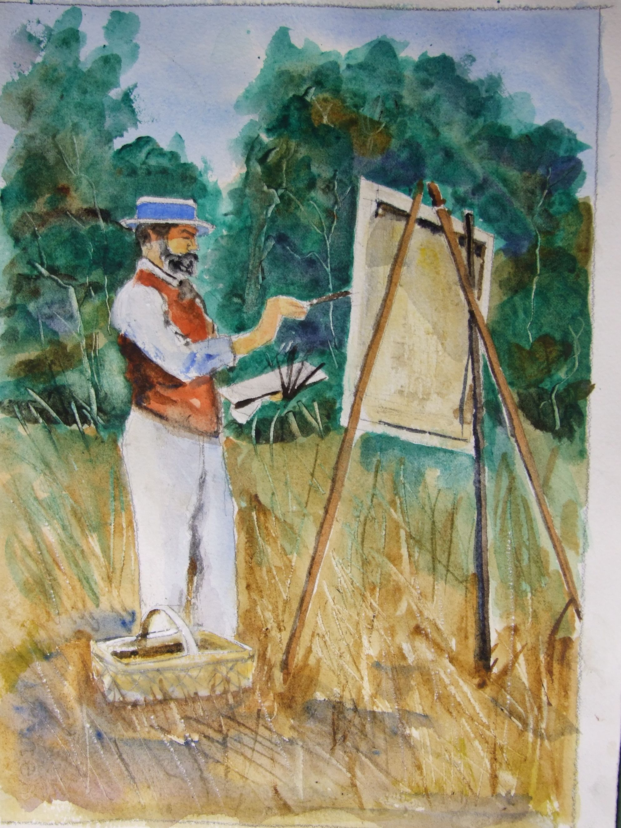 History of watercolor art - The History Of English Watercolour John Singer Sargent