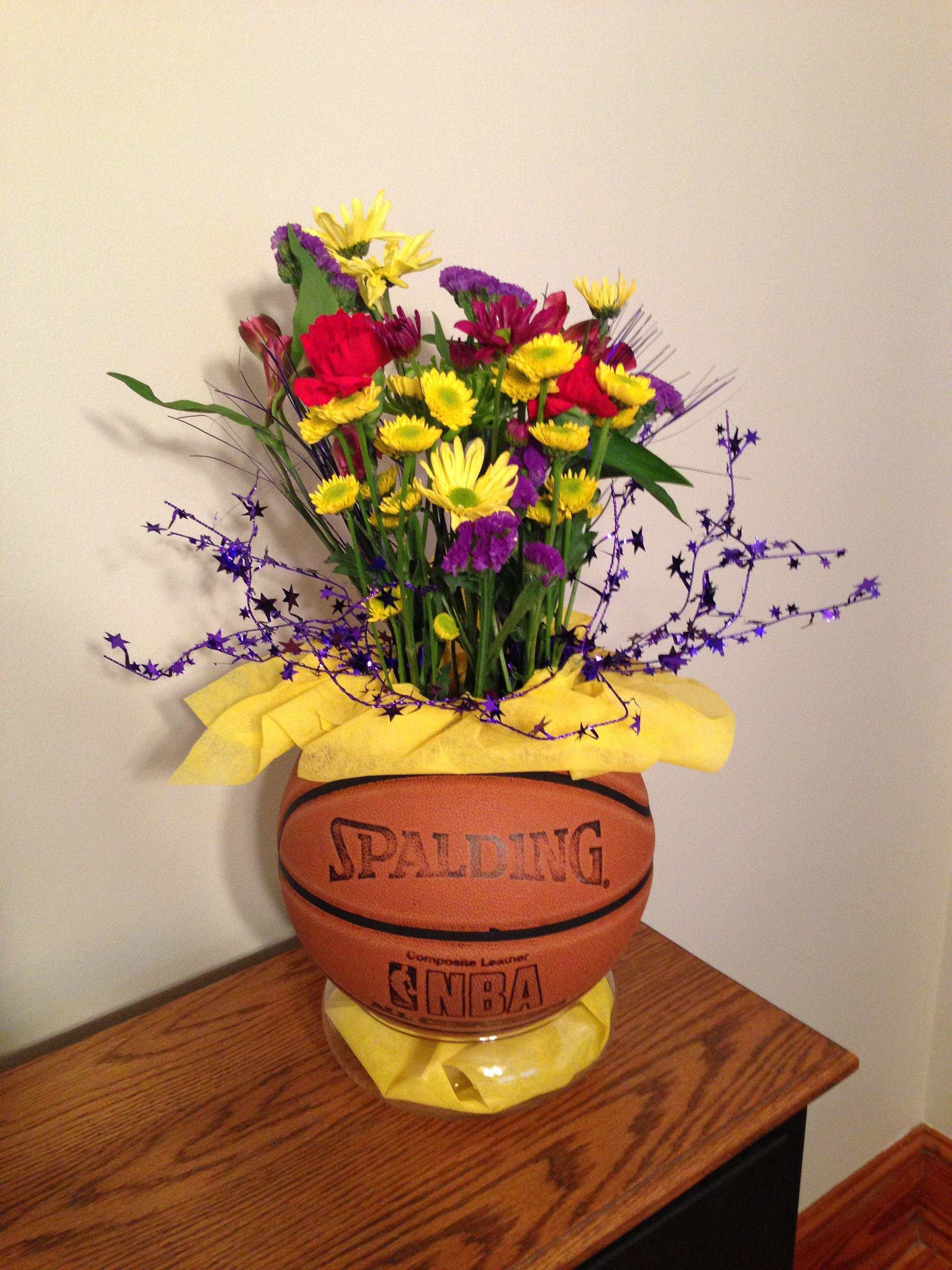 Centerpiece For Basketball Banquet Basketball Banquet