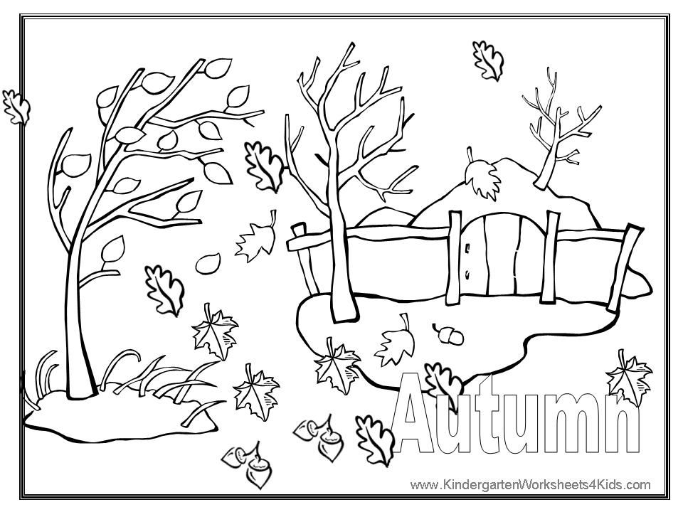 autumn coloring pages printable coloring pages