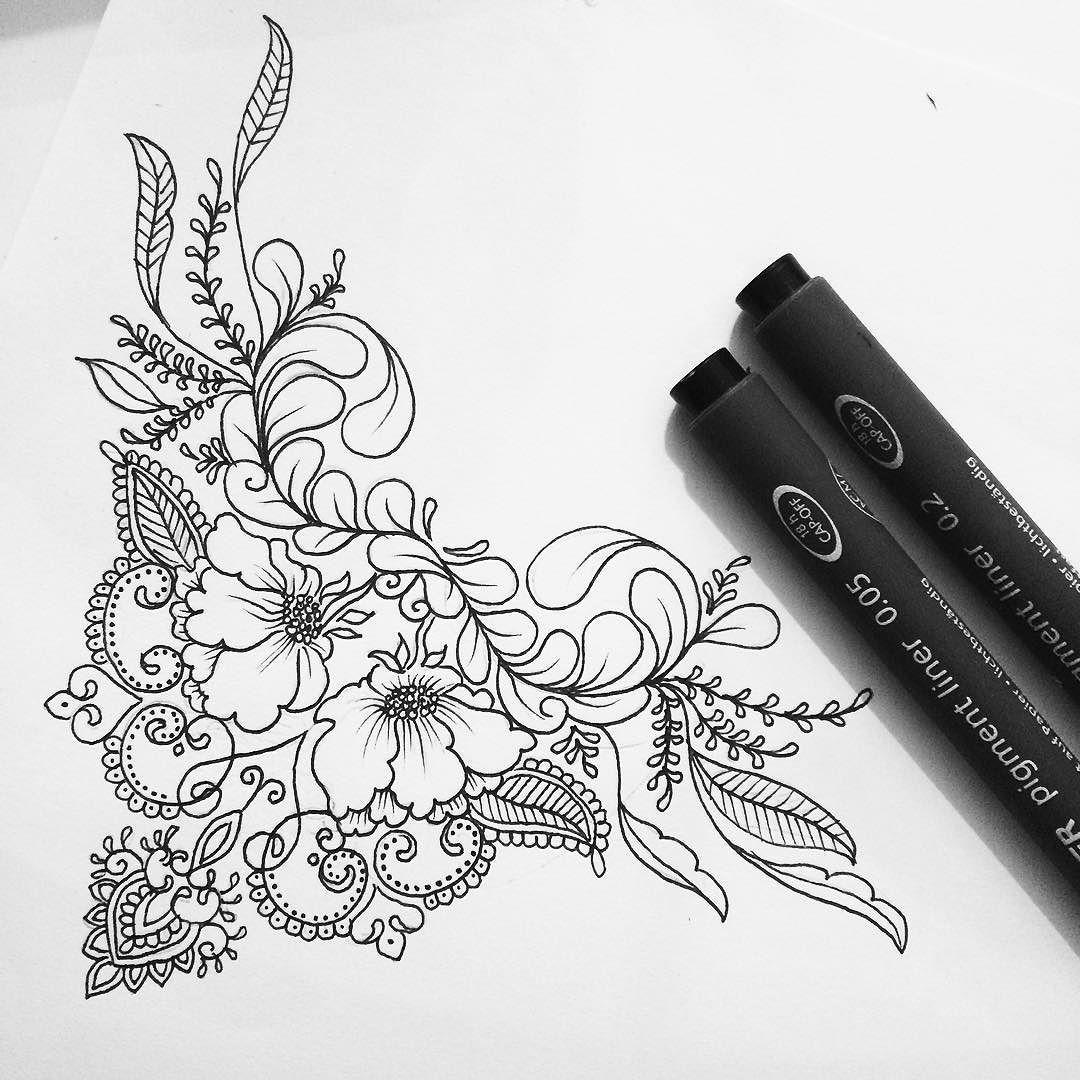 Henna Tattoo Designs Under Breast: Pin On Ink