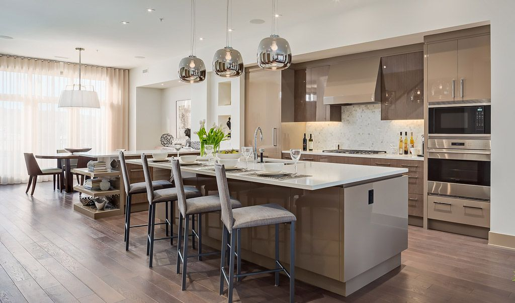 Valour Park Luxury Townhomes In Currie Barracks Calgary By Empire Custom Homes Perry Homes Home Kitchen And Bath Design