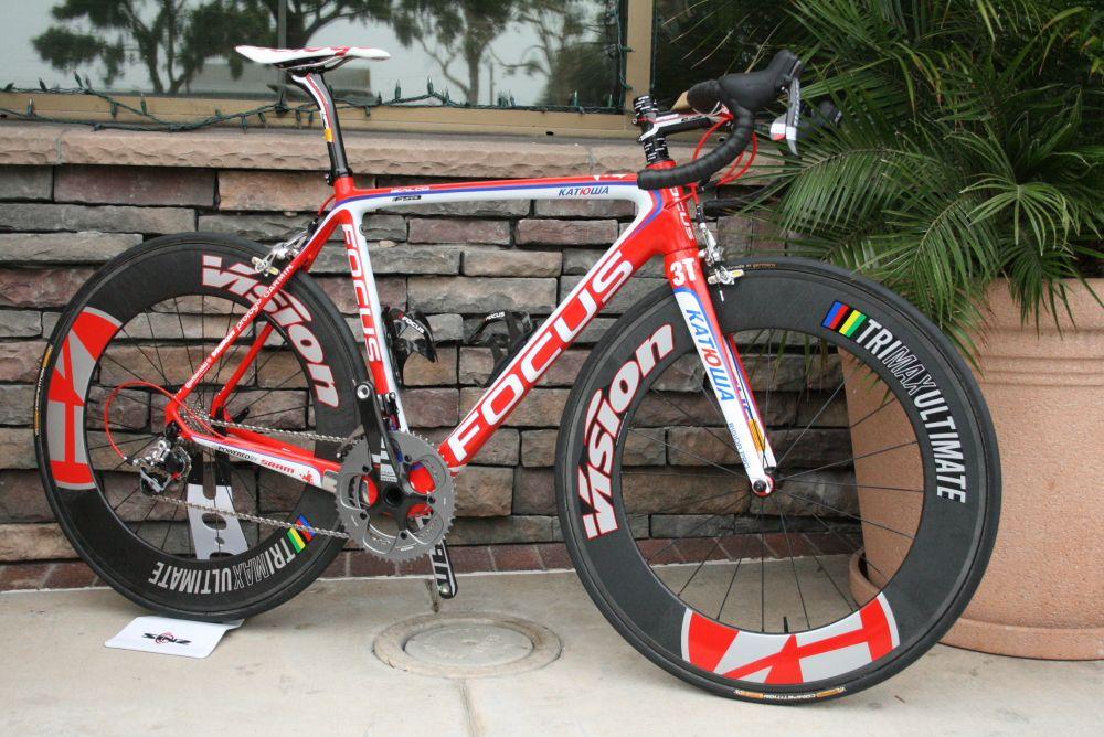 Focus Izalco Team Katusha Road Bikes Red Bike Cycling Bikes