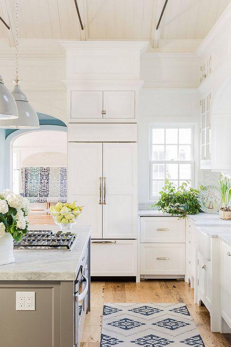 Classic Coastal Style Kitchen Design Kitchen Styling Interior