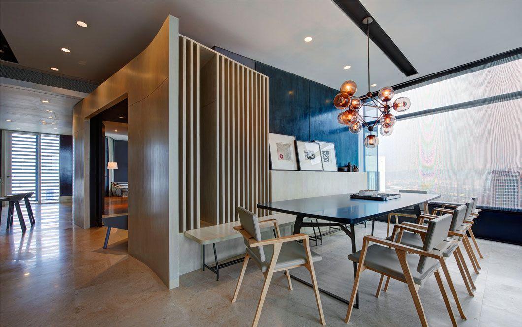 Unit One Design Architects Troika Apartment Kuala Lumpur