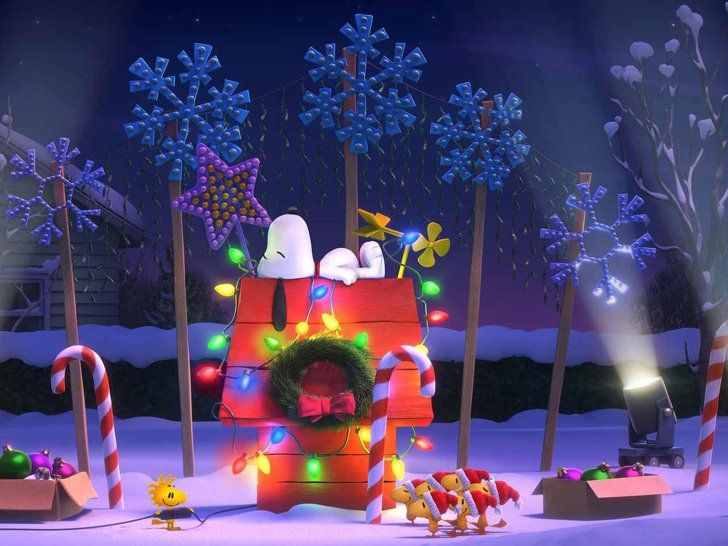 The Peanuts Movie S First Pictures Will Bring You Back To Your Childhood Snoopy Christmas Peanuts Christmas Snoopy
