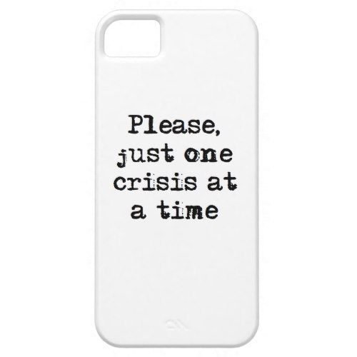 just one crisis iphone se 5 5s case template gifts custom diy