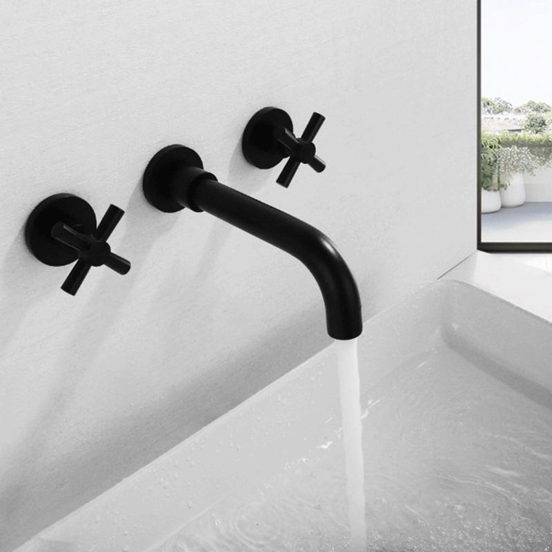 mitigeur mural robinet lavabo